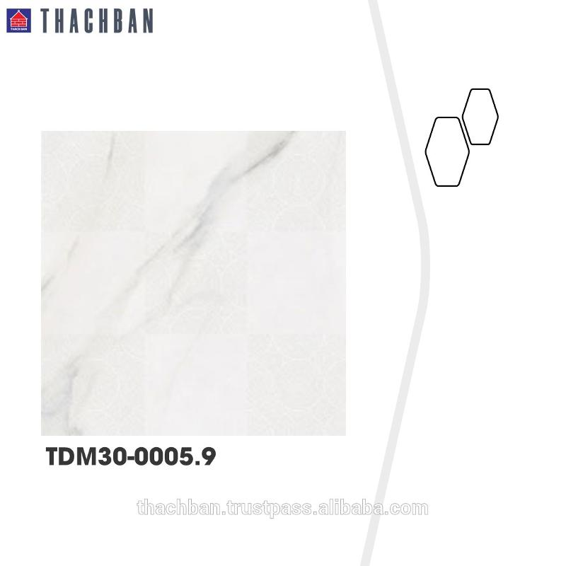 Made in Vietnam home decor  marble decor matt exterior wall tiles - Ceramic Floor tile