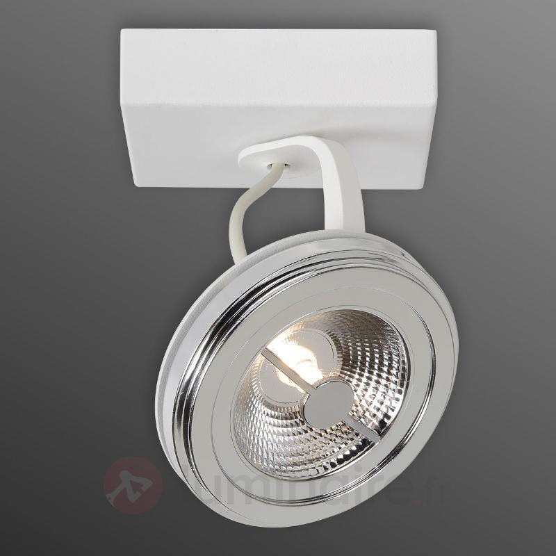 Spot LED réglable Xentrix, blanc - Spots et projecteurs LED