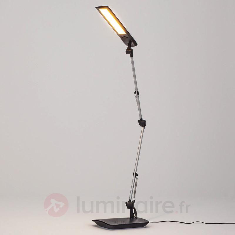 Lampe de bureau LED Felipe à pince de fixation - Lampes de bureau LED