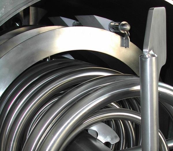 Tecnología de agitador  - para aparatos de cocción y enfriadores industriales