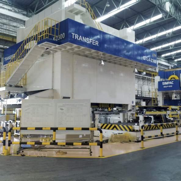 Linkpressen_DTL-Baureihe - Linkpressen / 6.000-30.000 kN / Flexibel und effizient