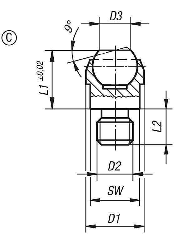 Self-aligning pads - Self-aligning pads