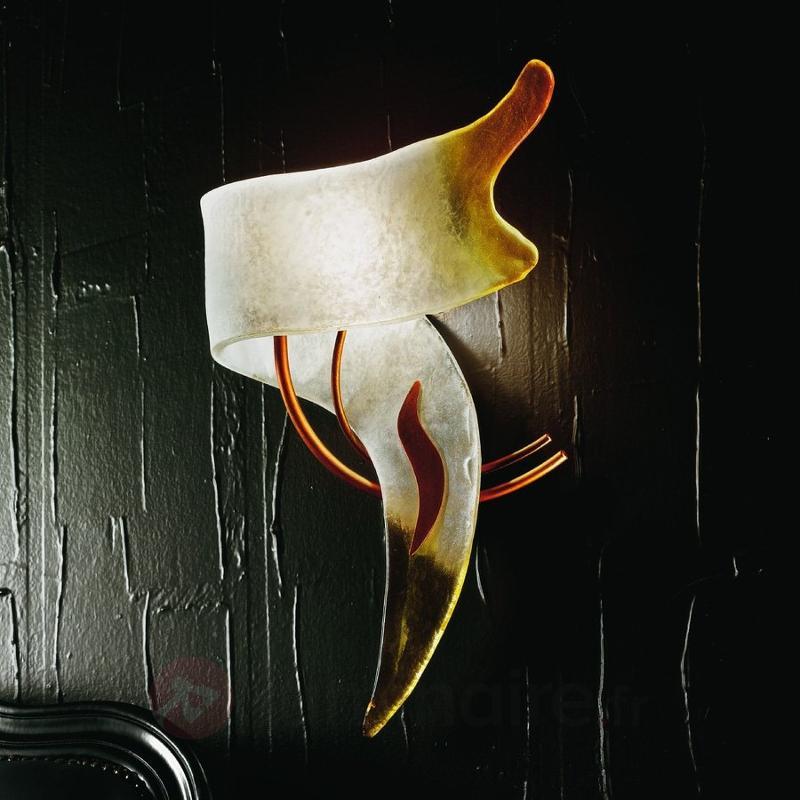 Applique design italien CAPRI - Appliques en verre