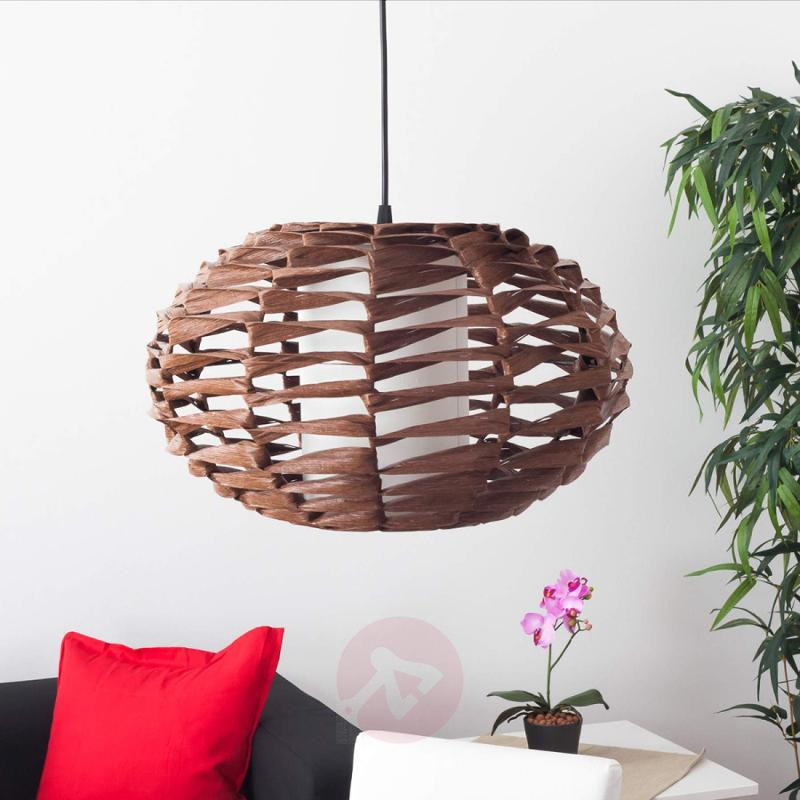 Joselyn Pendant Light Natural Look Bulbous - indoor-lighting