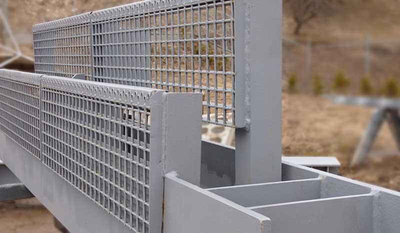 Schweißen von Stahlkonstruktionen -