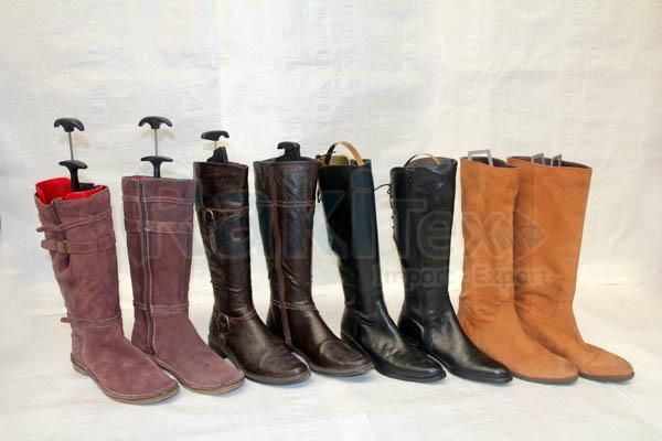 Chaussures usagées hiver -