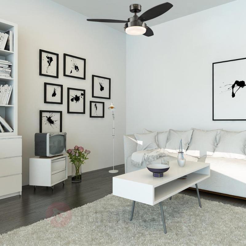 Ventilateur de plafond noir très moderne ALLOY - Ventilateurs de plafond modernes