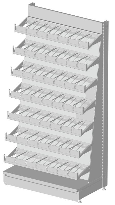 Modular shop rack systems & instore interior shelving design - Video presentation