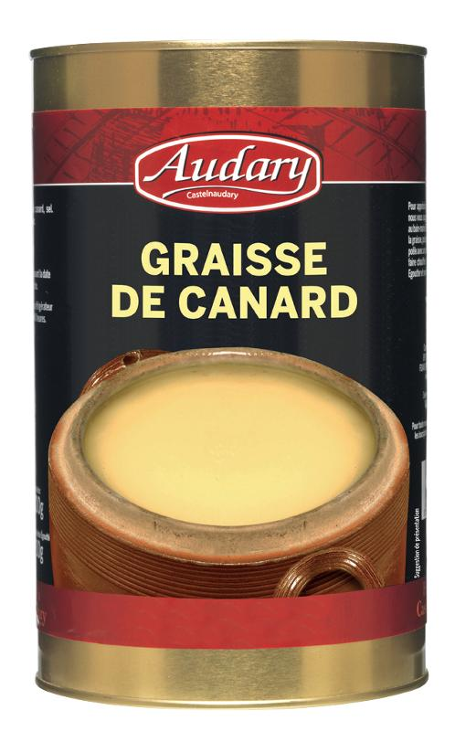 GRAISSE DE CANARD BOITE 5/1 - Epicerie salée