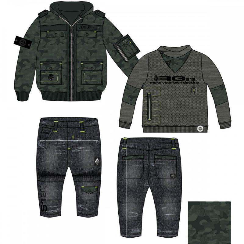 Ensemble 3 pieces RG512 du 3 au 24 mois - Vêtement hiver