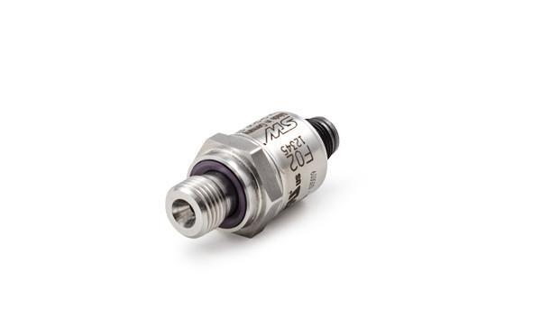 Drucksensor - F02 - Der funktional sichere Drucksensor F02 umfasst die Drücke von 10 bis 1200 bar