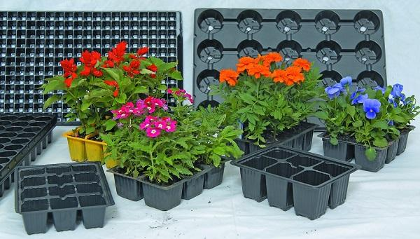 Nursery- Seedling Trays and Pots Dispo Plastik - Plastic Nursery Trays, Nursery Pots, various gardening products by Dispo Plastik
