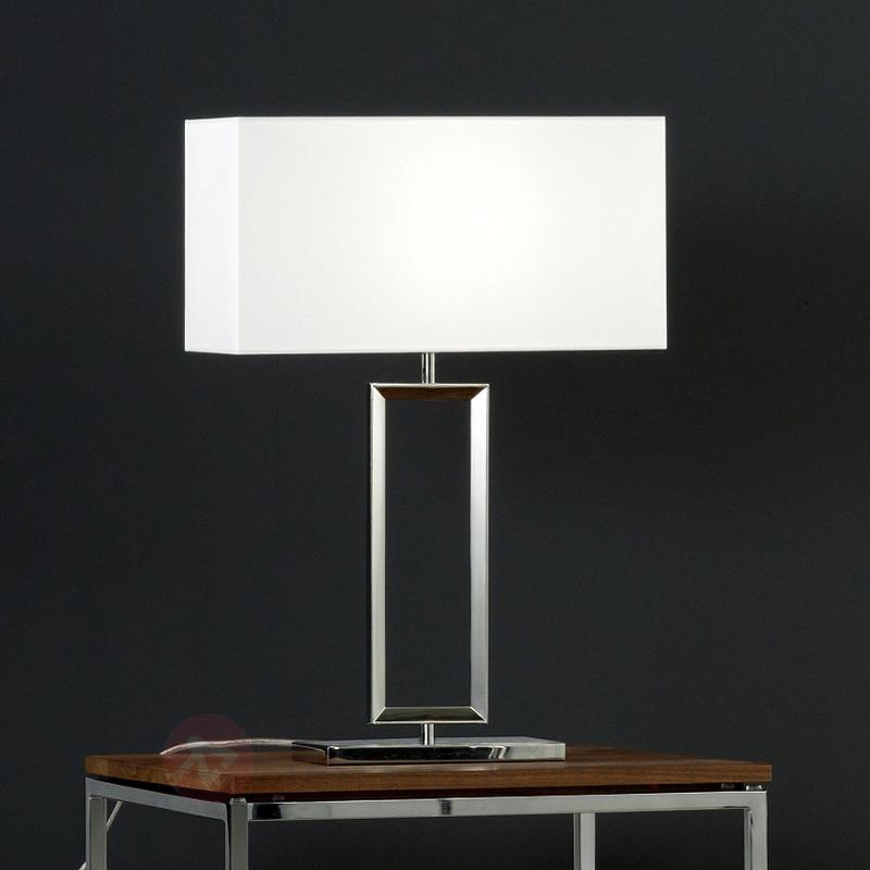 Lampe à poser moderne ENNA 2 - Lampes à poser en tissu