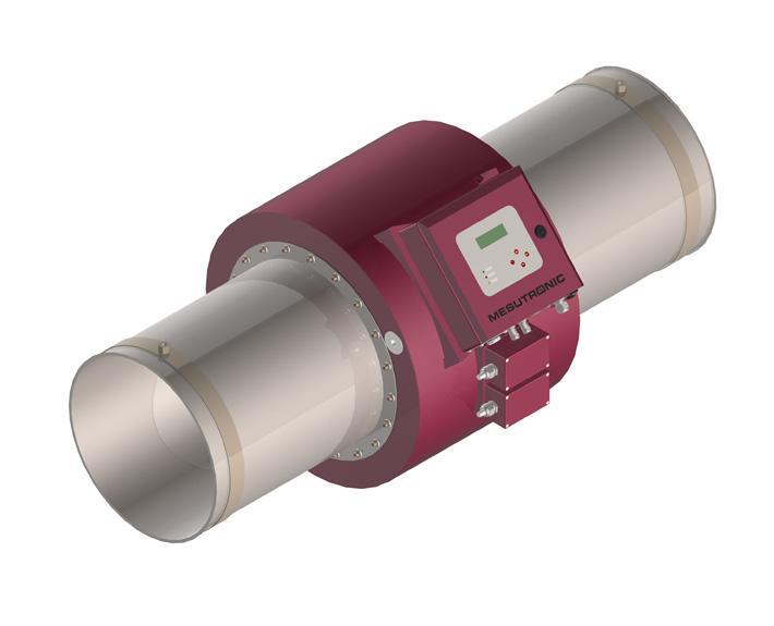 Runder Metalldetektor zum Einbau in pneumatische - METRON 05 PowerLine