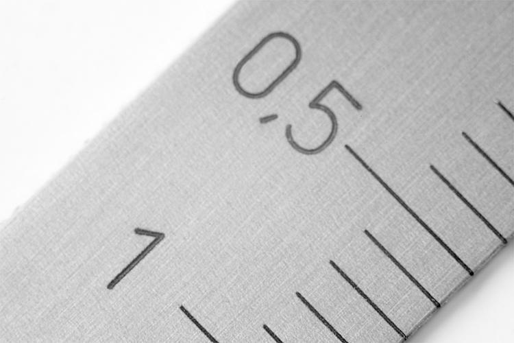 Règle en Inox autoadhésive - Règles, indicateurs de position, nivelles