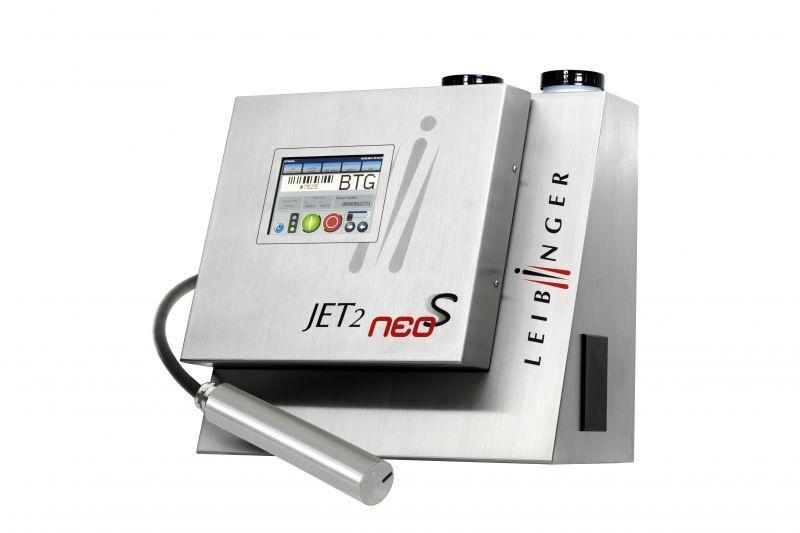 LEIBINGER JET2neoS - Industrieller Inkjet-Drucker