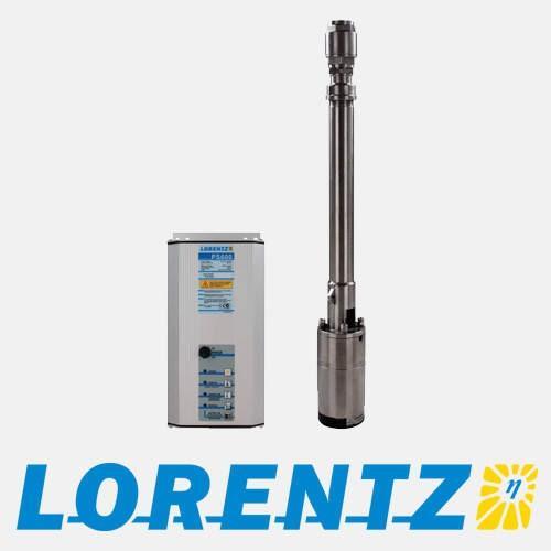 Pompe Solaire avec son Data module Lorentz