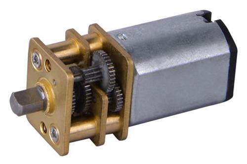 GM12 Gear Motor Series - Gear motor range