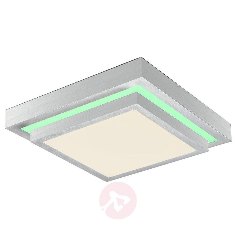 Square LED ceiling lamp Colore with remote control - Ceiling Lights