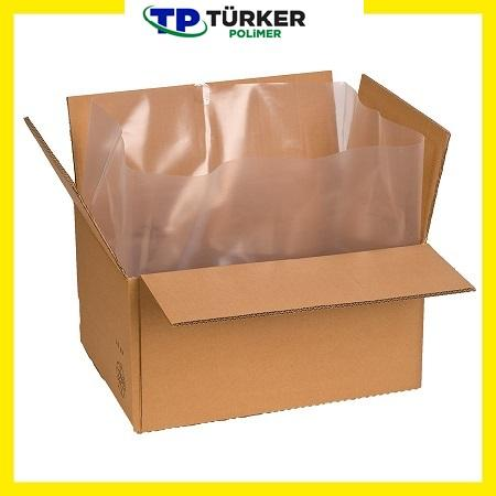 Plastic bag for cardboards and plastic barbox