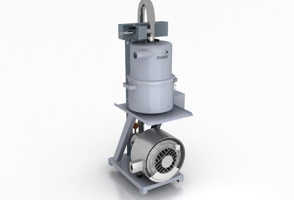Sistemas de alimentación de material: transporte central - Sistemas de alimentación de material central, sistema de transporte específico