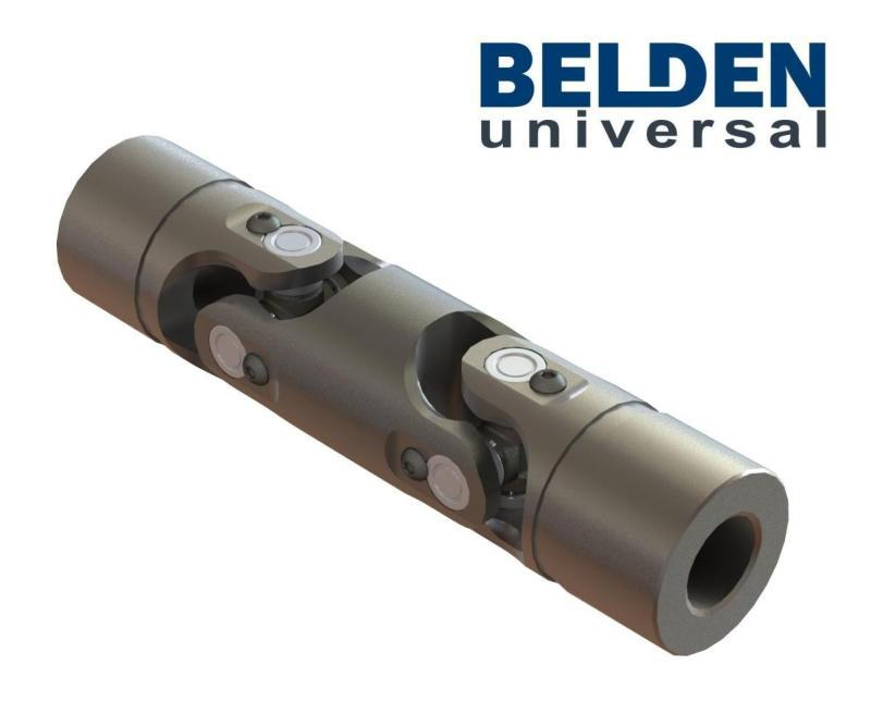 BELDEN Needle Bearing Precision Double Universal Joints - For Cardan Joints, U Joint