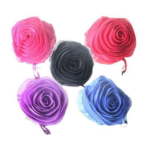 bolso plegable de la flor - Impresión a todo color
