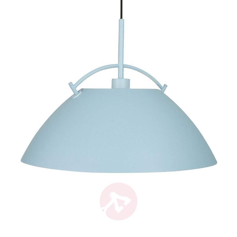 Whistler hanging light in blue - Pendant Lighting