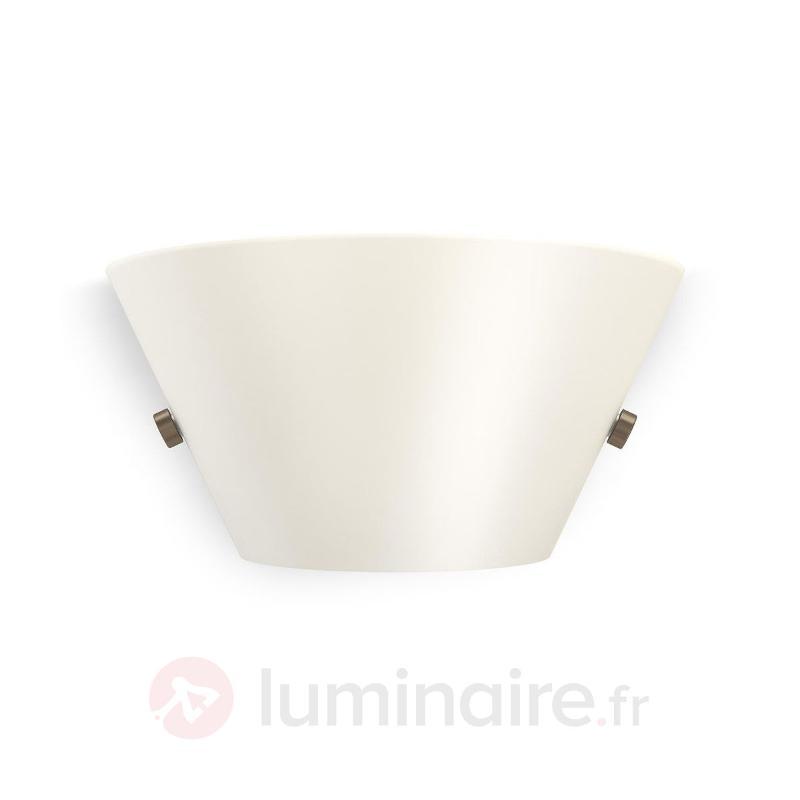 Applique en verre Vendee avec LED - Appliques en verre