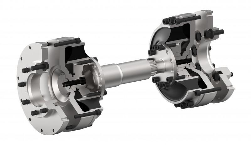 TOK 联轴器系统 - TOK 联轴器系统 用于测试台架的高弹联轴器轴