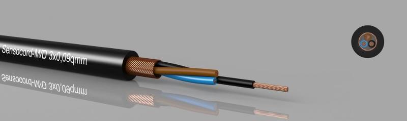 Sensor cables - Sensocord®-M/D Miniature-Sensor cable, shielded