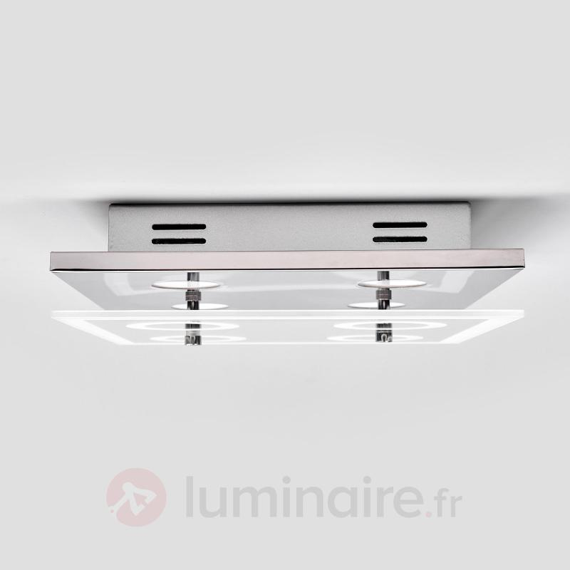 Plafonnier LED carré Lio - Plafonniers LED