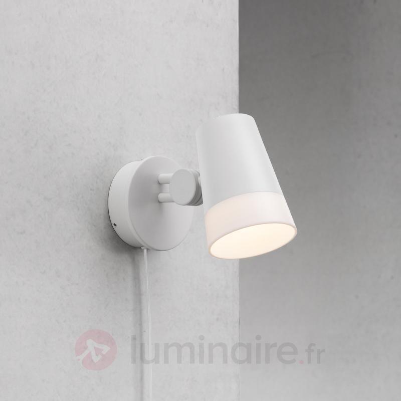 Spot mural LED Sonate, blanc neige - Appliques LED