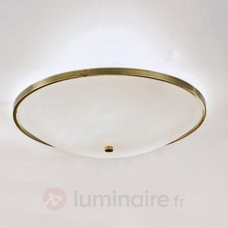 Délicat plafonnier TALYA, 56,5 cm - Plafonniers laiton/dorés