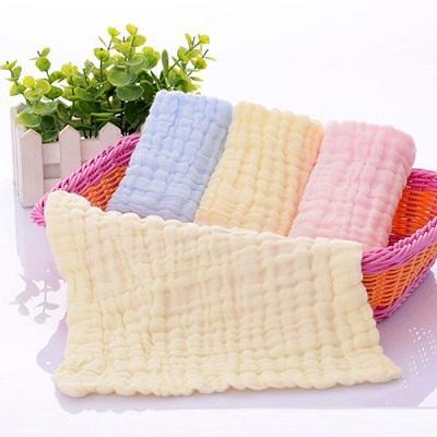 Pañuelo de bebé - Gasa desnatada absorbente 100% algodón, después de desengrasar blanqueamiento, s