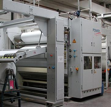 Compacting Calender - For compacting of knitted fabrics