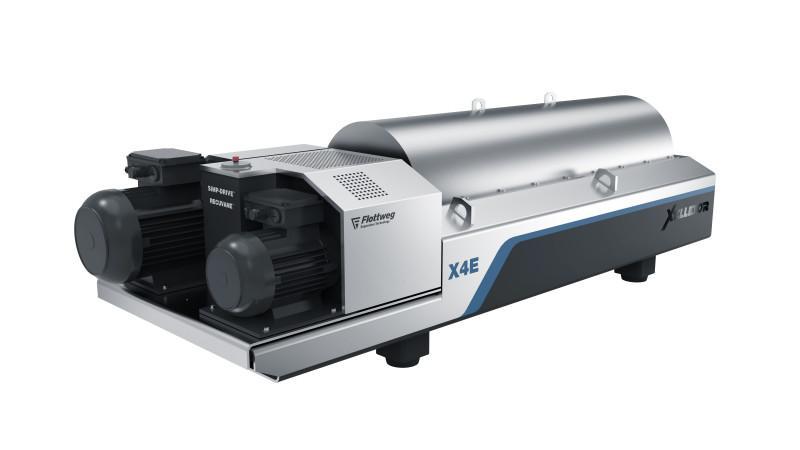 Serie Xelletor - Flottweg Xelletor: revolución en la deshidratación de lodos