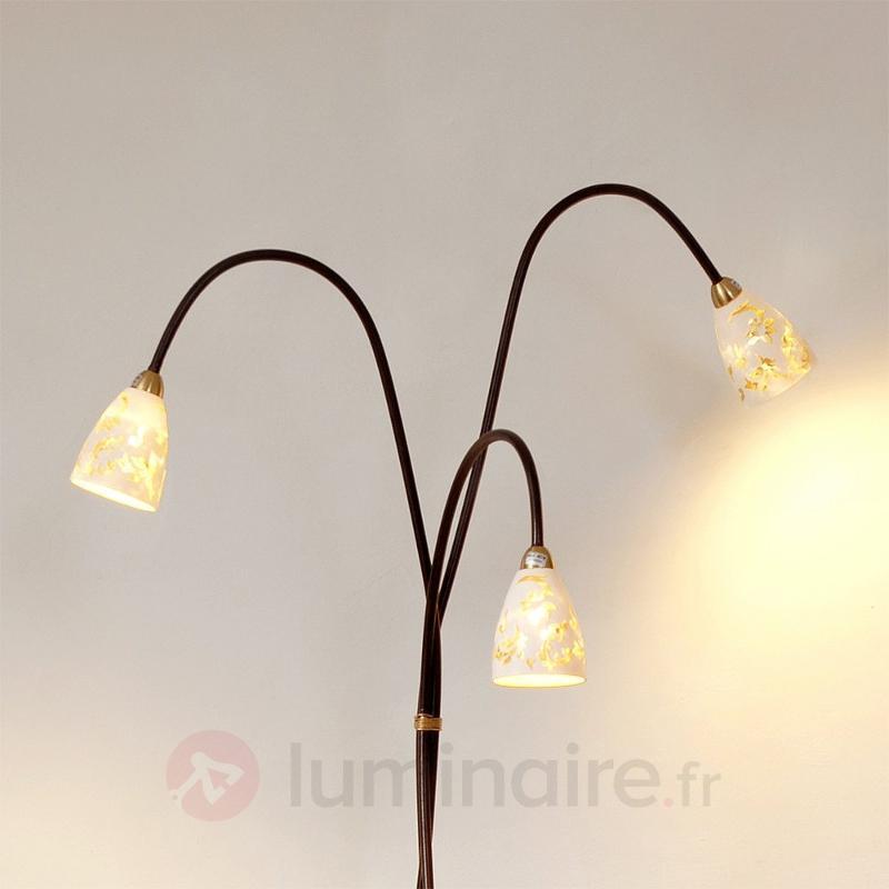 Lampadaire voluptueux Alice - Lampadaires rustiques