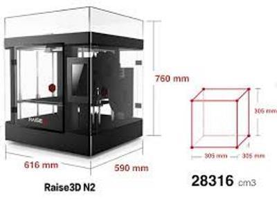 Raise3D  N2 Dual - Imprimante 3D Raise3D  N2 dual