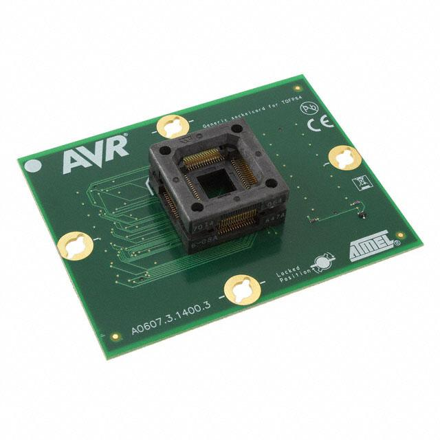STK600 TQFP SOCKET CARD AVR - Microchip Technology ATSTK600-SC02