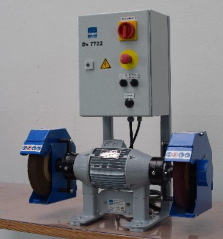 DS 7722 double ended sander  - For belt polishing, sanding, scotching and polishing