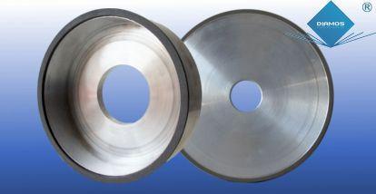 Diamant- / CBN-Schleifscheiben zum Schärfen von Werkzeugen - Diamant- / CBN-Schleifscheiben zum Schärfen von Werkzeugen