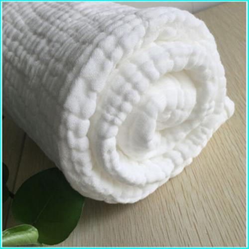 Baby bath towel - 100% cotton absorbent skim gauze, after degreasing bleaching, high temperature d