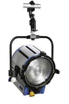 Halogen spotlights - ARRI True Blue ST1 MAN blau/silber, bare ends
