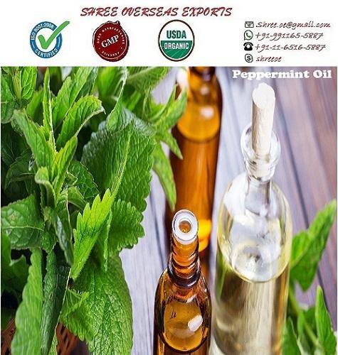 Organic Peppermint Oil - USDA Organic