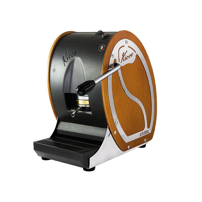 Macchine a Cialde Kicco in Legno Colore Ciliegio 50 Cialde Omaggio - Aroma Kicco