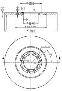 Plaquettes de frein Spéciales - Véhicules Industriels