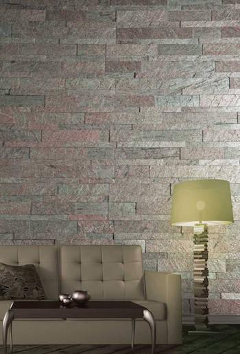 Self Adhesive Flexible Veneer Natural Stone Panels - Easy DIY Tile Backsplash