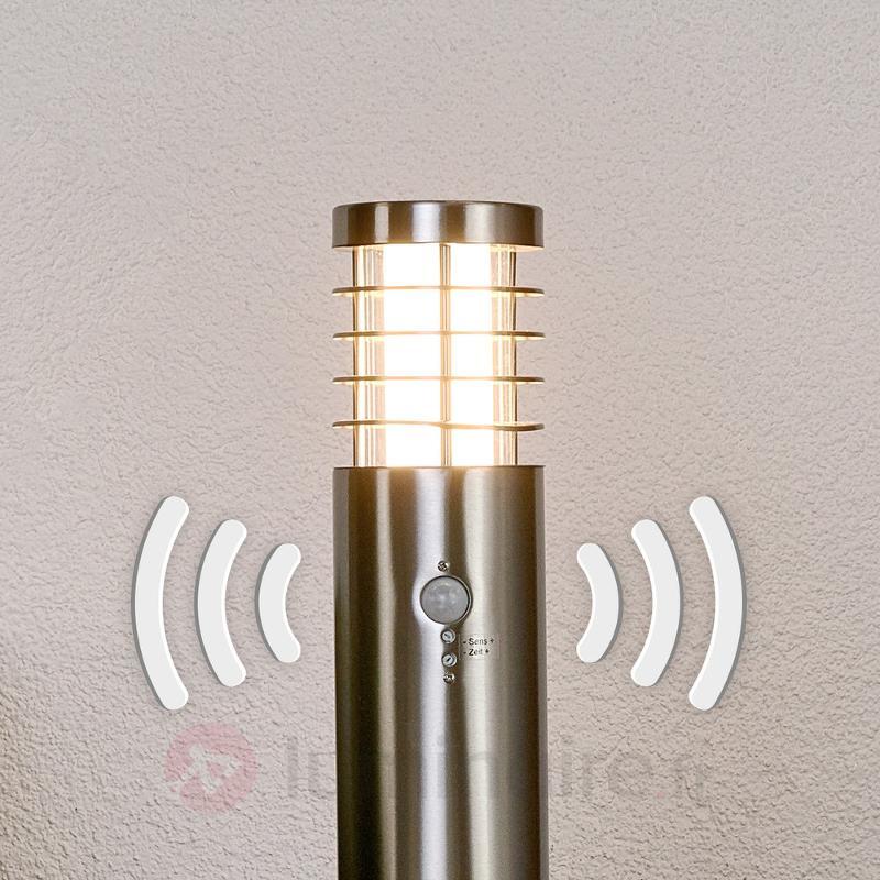Borne lumineuse LED Dila moderne capteur mouvement - Bornes lumineuses avec détecteur