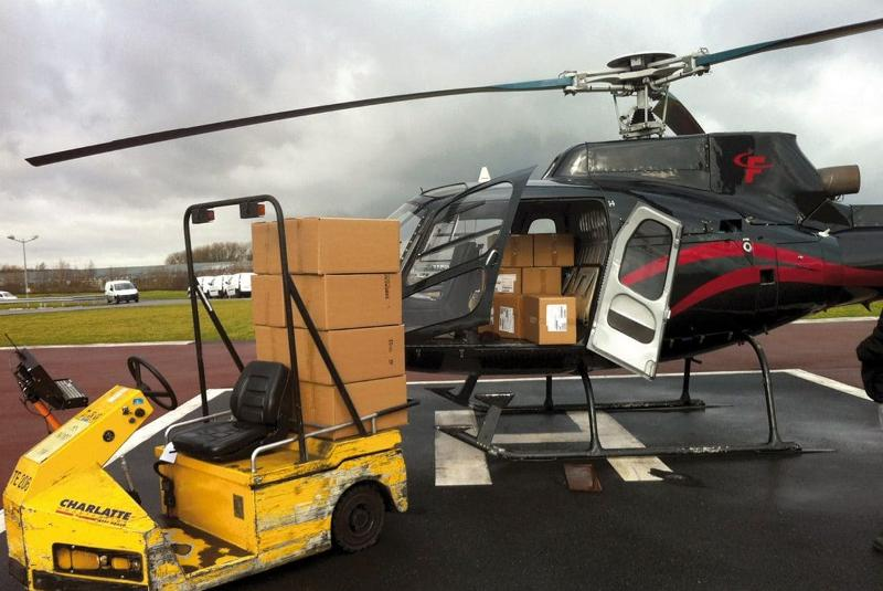 Chartered helicopters - urgent cargo helicopter transportation
